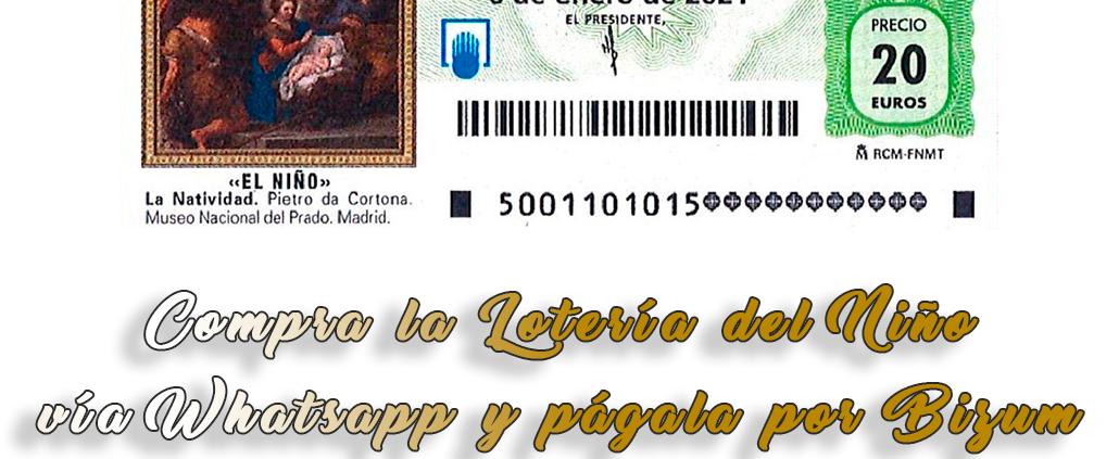 décimo de la Lotería del Niño online