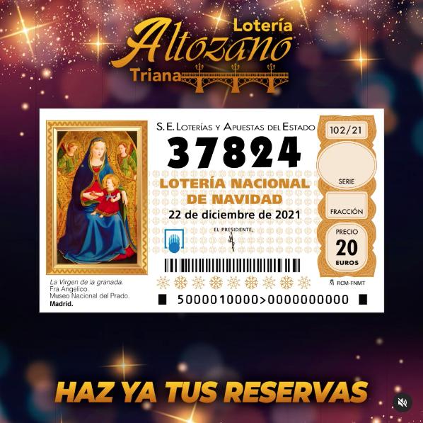 Lotería de Navidad en Sevilla