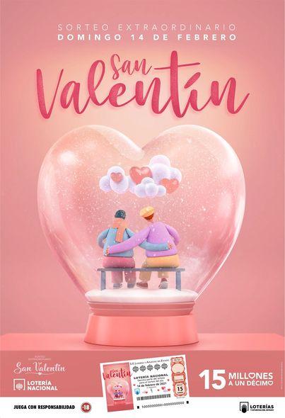 sorteo extraordinario San Valentín